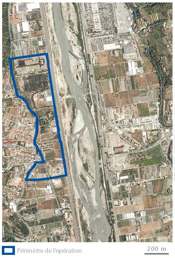 Carte-2013 : secteur La Baronne, La Gaude, AM 06
