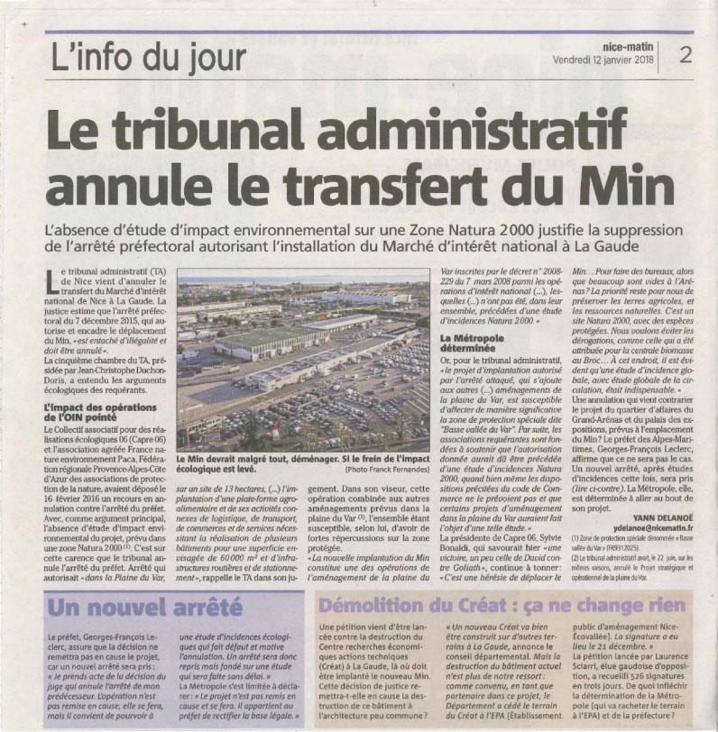 2018-01-12-TA-annule-Arrêté-Préfectoral-Transfert-MIN-NM