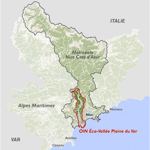 carte-MNCA OIN Eco Vallée Plaine du Var AM06 (2011)