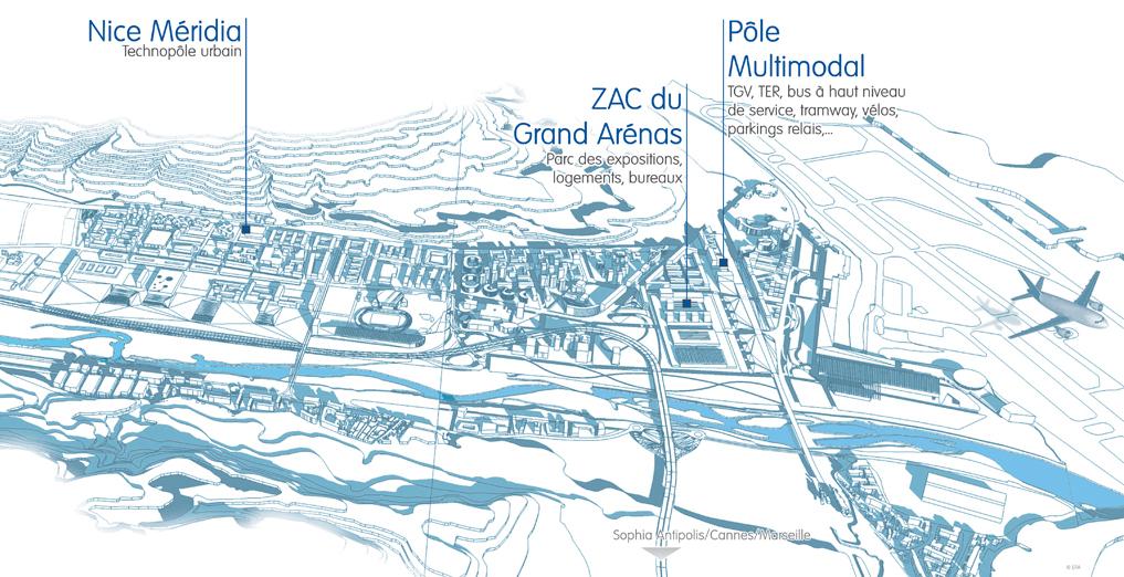 Premières opérations de l'EPA - Plaine du Var-sud ©EPA