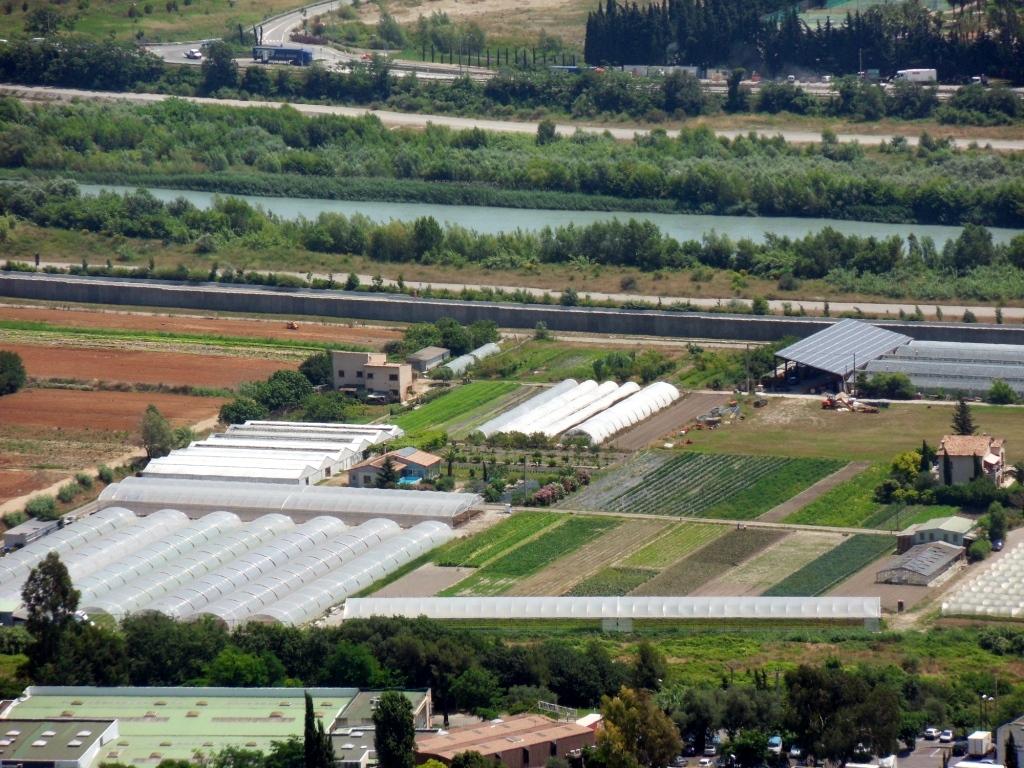 Zone agricole Plaine du Var ©2010 EPA Eco-Vallée
